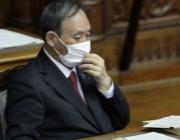 应对疫情不利,日本首相菅义伟支持率大跌